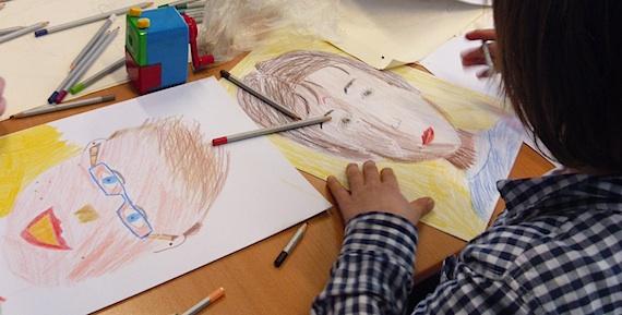 zelfportret maken basisschool